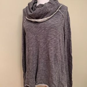 Free People Beach Cowl Neck Reversible Tunic (OS)